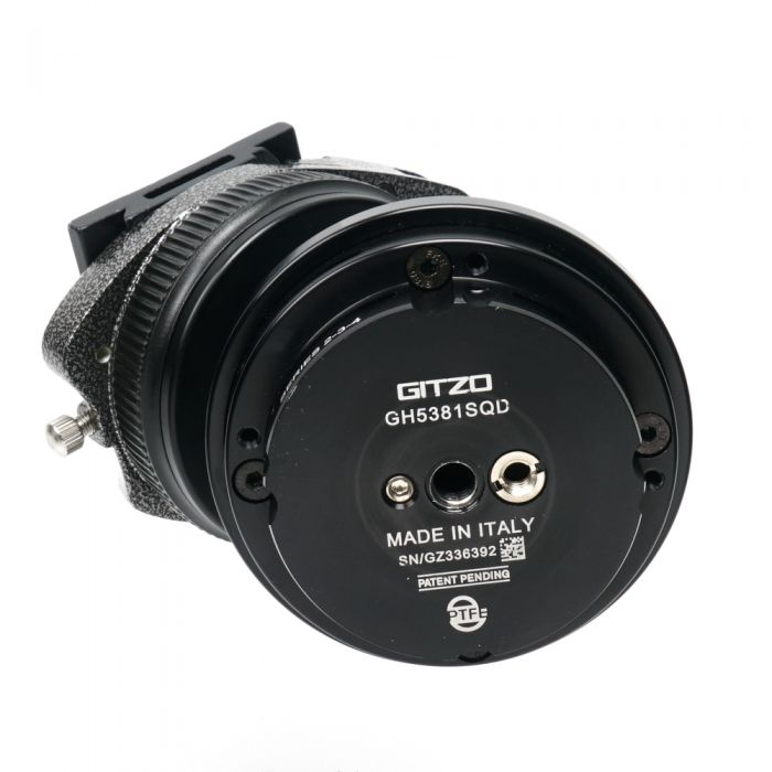 Gitzo GH5381SQD Series 5 Systematic Ballhead for Tripod (Requires Quick Release Plate)