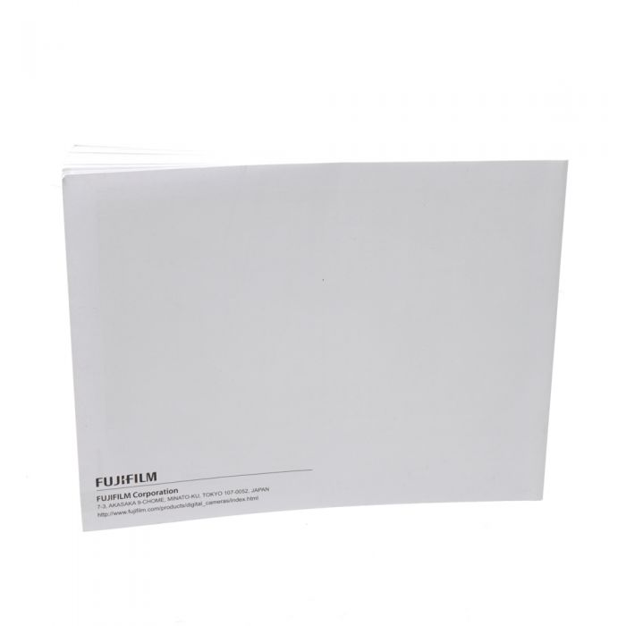 Fujifilm X100F Instructions