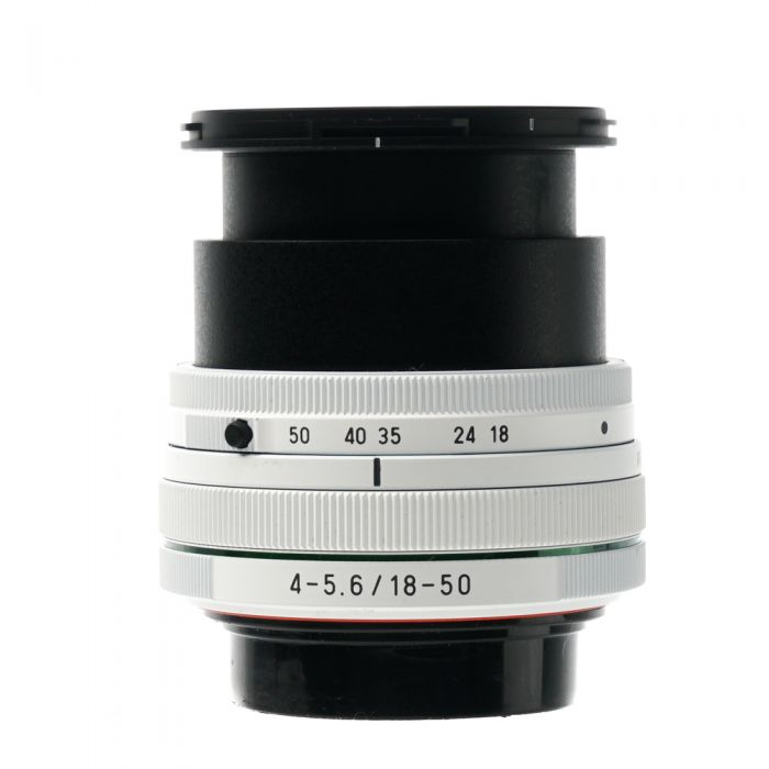 Pentax 18-50mm F/4-5.6 SMC DAL DC WR RE White K Mount Autofocus Lens For APS-C Sensor DSLRS {58}