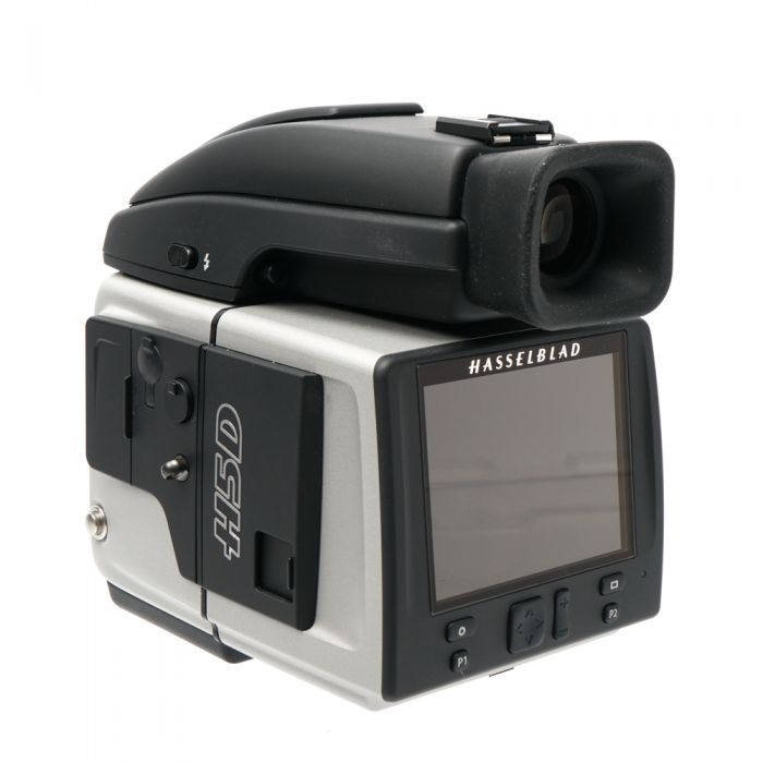 Hasselblad H5D-50c Medium Format DSLR Camera Body {50MP} with Battery Grip (7.2V/2900mAh), HVD 90X Viewfinder, Black