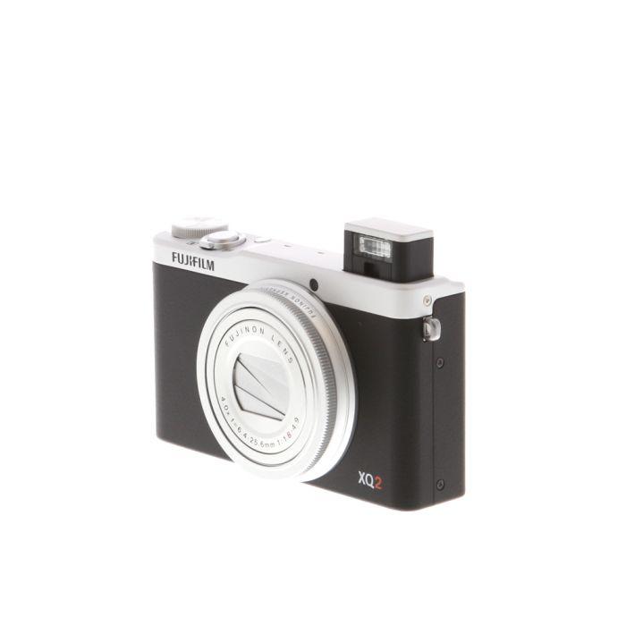Fujifilm XQ2 Digital Camera, Silver {12MP}