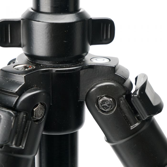 Cameron FT-6664TA Carbon Fiber Tripod Legs, Black, 4-Section, 22-62\