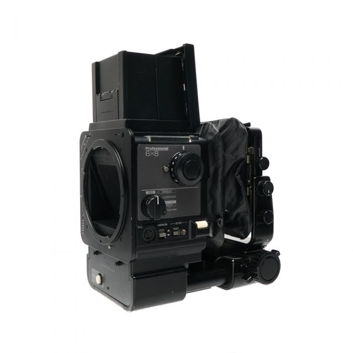 Fuji GX680 Professional Medium Format Camera with Waist Level Finder, Wide Angle Bellows, Body Only (Requires Power Source)