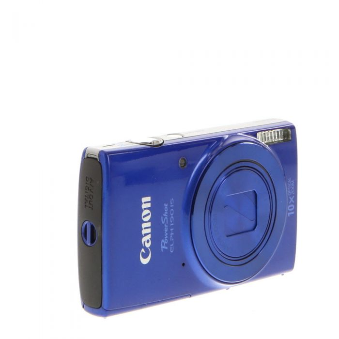 Canon Powershot ELPH 190 IS Digital Camera, Blue {20 M/P}