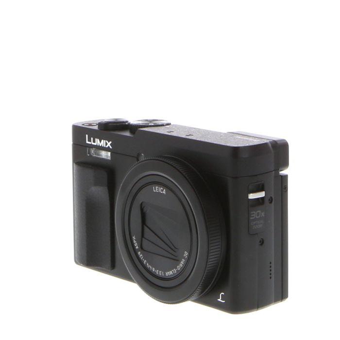 Panasonic Lumix DC-ZS70 Black Digital Camera {20.3MP}