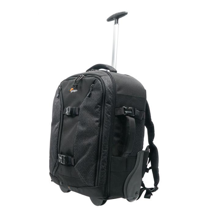 Lowepro Pro Runner RL x450 AW II Backpack/Roller Case Black 13.8x9x20.7\