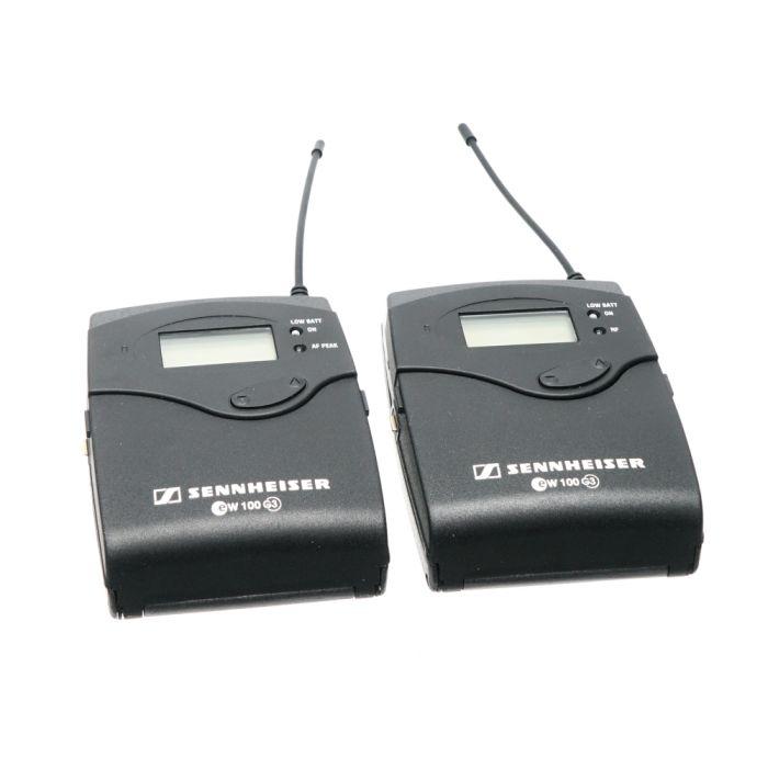 Sennheiser EW 112P G3 Wireless Microphone System G (566-608MHz) with EK 100 Receiver, SK 100 Transmitter, ME 2 Omni Lavalier Microphone