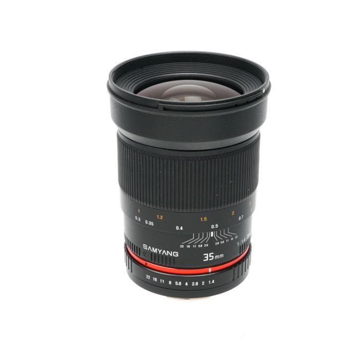 Samyang 35mm f/1.4 AS UMC Manual Lens for Canon EF-Mount (77)