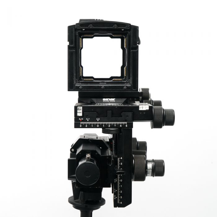 Sinar P2 Converted to P3 View Camera Body (P2 Bearers with P3 Carrier Frames) (Requires Back Adapter)