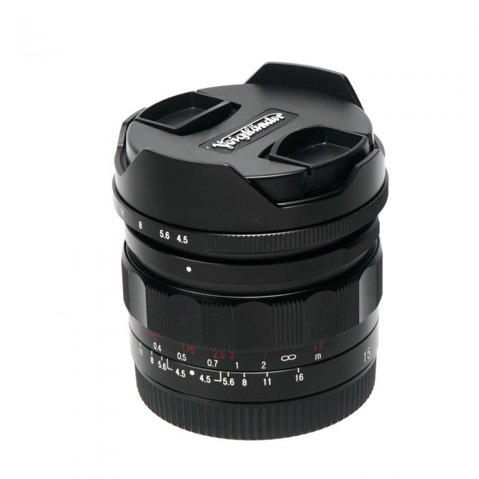 Voigtlander 15mm f/4.5 III Super Wide-Heliar Aspherical Manual Lens for Sony E-Mount, Black {58}
