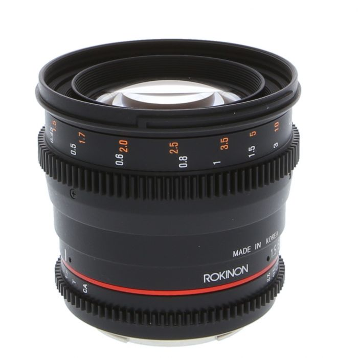 Rokinon Cine 50mm T1.5 AS UMC (DS) (IF) Manual Lens for Canon EF-Mount {77}