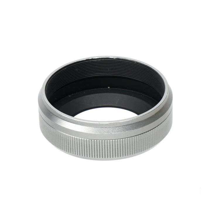 JJC Brand LH-JX100II Lens Hood for Fujifilm X100/100S, Silver, With 49mm Adapter