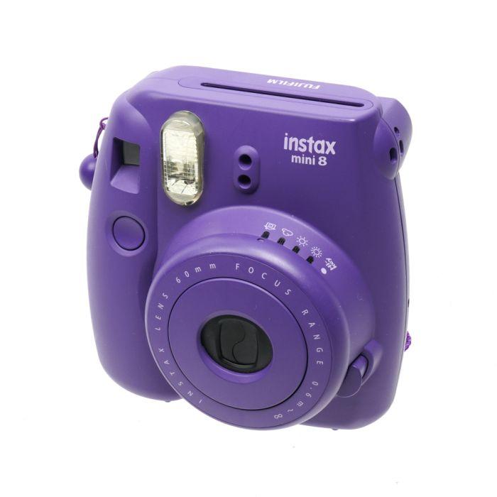 Fujifilm Instax Mini 8 Instant Print Camera, Grape