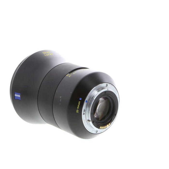 Zeiss 28mm F/1.4 Otus APO Distagon ZE T* (Manual Focus) Lens For Canon EF Mount {95}