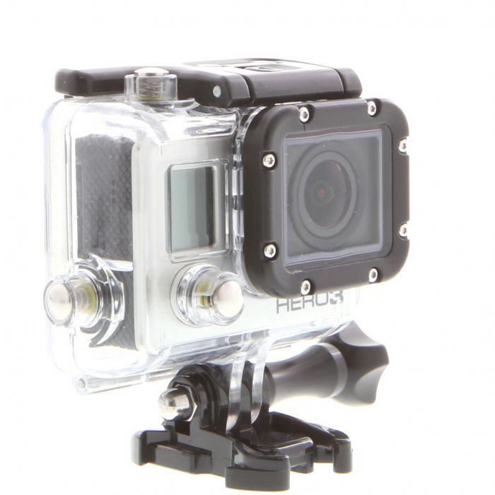 GoPro Hero 3 Black Edition Digital Action Camera With Standard Housing (Waterproof to 131\'), Quick Release Buckle {12 M/P}