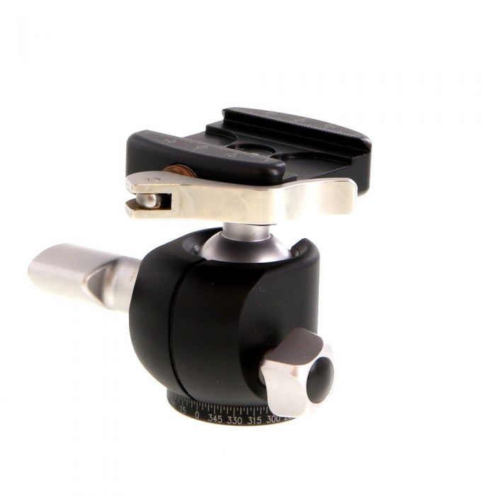 Really Right Stuff BH-30 Ball Tripod Head with BH-30 LR II Full-Size Lever Release Clamp (Requires Qucik Release Plate)