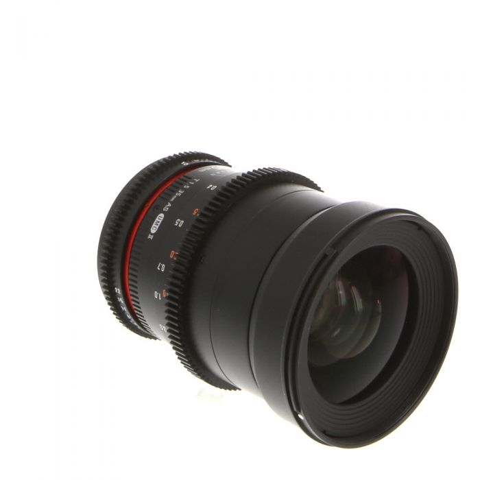 Rokinon Cine 35mm T1.5 AS UMC II (DS) Manual Lens for Canon EF-Mount {77}