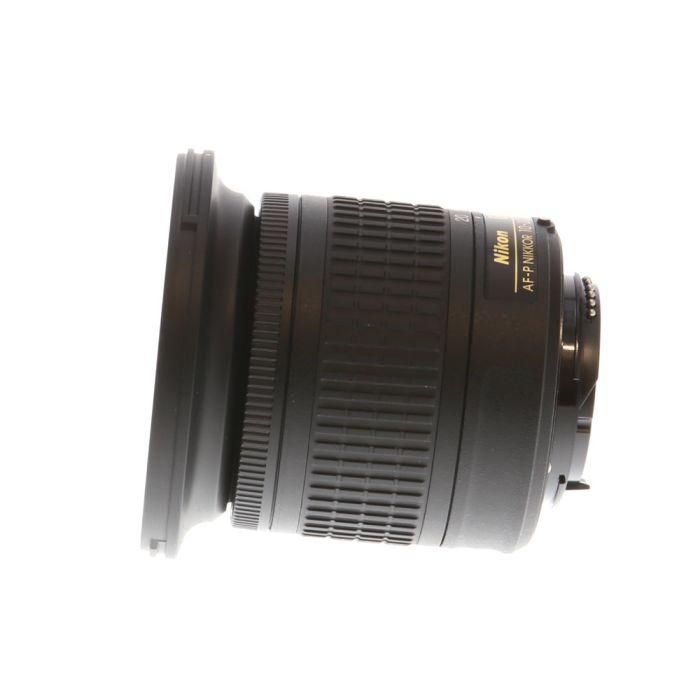 Nikon AF-P DX Nikkor 10-20mm f/4.5-5.6 G VR Autofocus Lens for APS-C Sensor DSLR, Black {72}