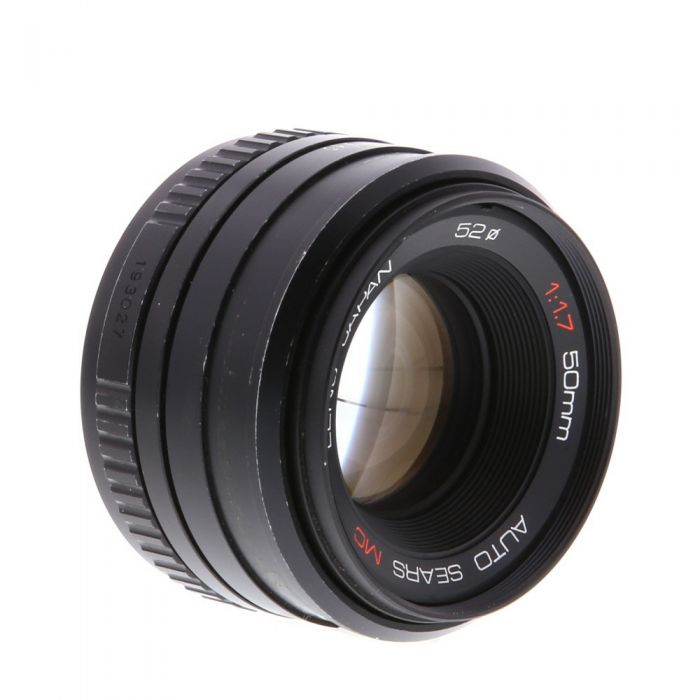 Sears 50mm F/1.7 Manual Focus Lens For Pentax K Mount {49}