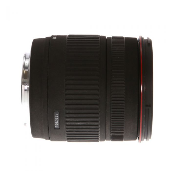 Sigma 18-200mm f/3.5-6.3 DC 8-Pin Lens for Sony Alpha APS-C {62}