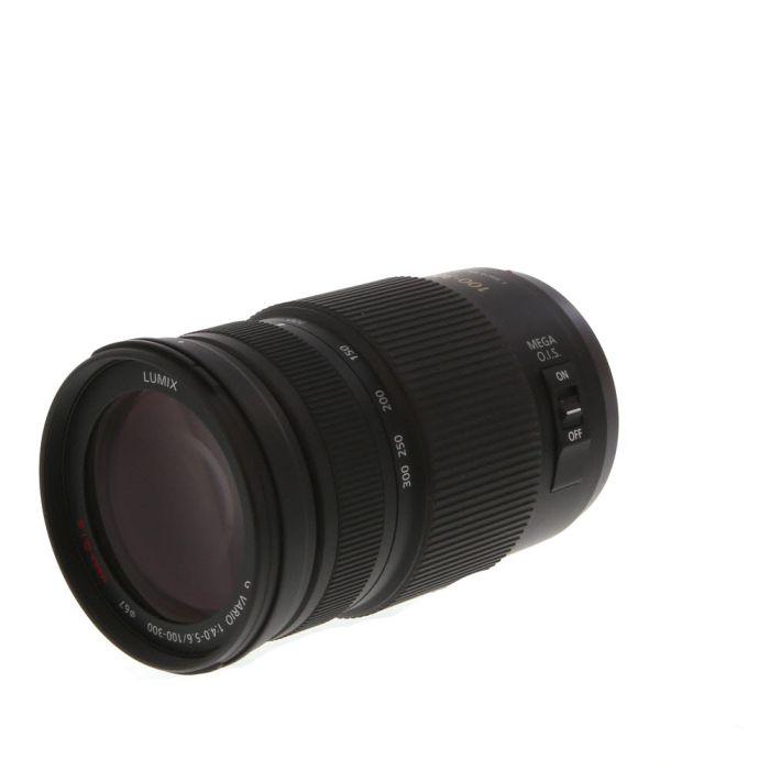 Panasonic Lumix 100-300mm f/4-5.6 G Vario (II) Power O.I.S. AF Lens for Micro Four Thirds System, Black {67}