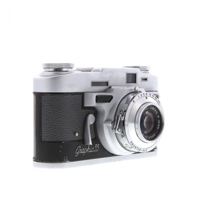 Graflex Graphic 35 35mm Camera, with 50mm F/3.5 Graflar
