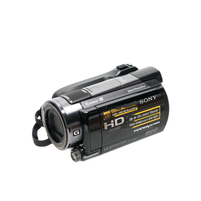 Sony HDR-XR500V 120GB HD Handycam NTSC Digital Video Camera, Black {12MP}