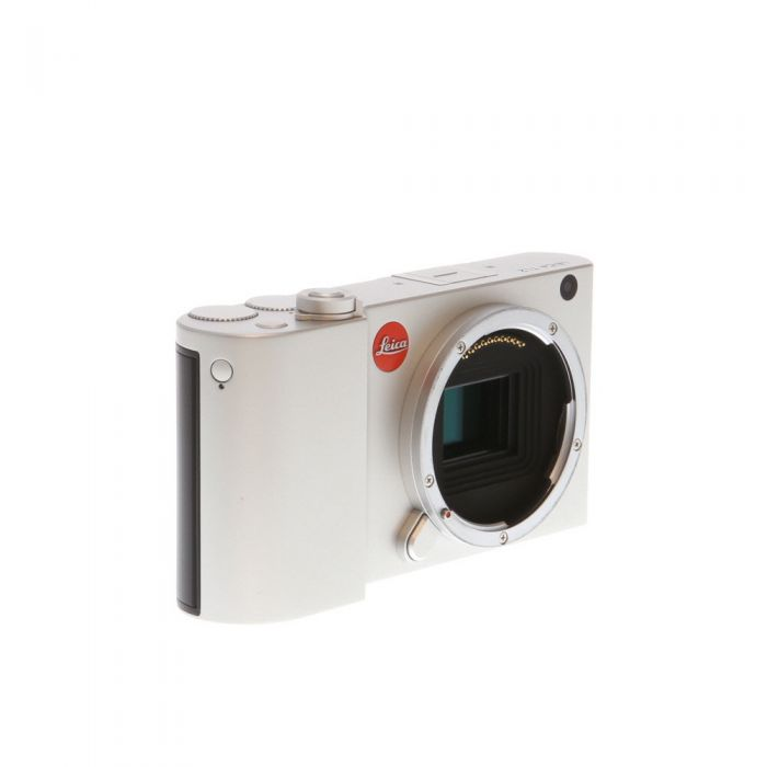 Leica TL2 Mirrorless Digital Camera Body, Silver {24.2 M/P} 18188