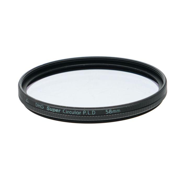 Marumi 58mm Circular Polarizing DHG Super Filter