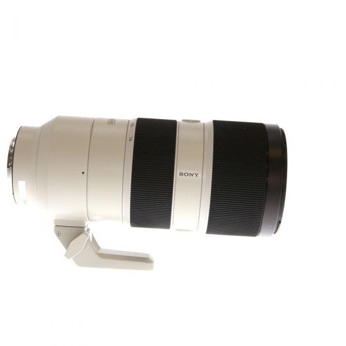 Sony FE 70-200mm f/2.8 GM OSS AF E-Mount Lens, White {77} with Tripod Mount (SEL70200GM)