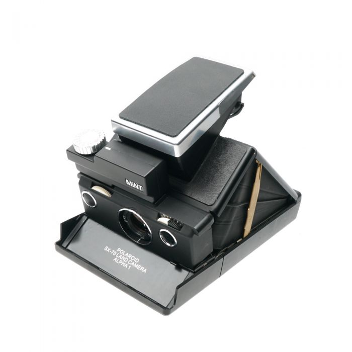 MiNT SLR670-S (SX-70 Type) Auto/Manual Instant Camera, Black, with MiNT Time Machine