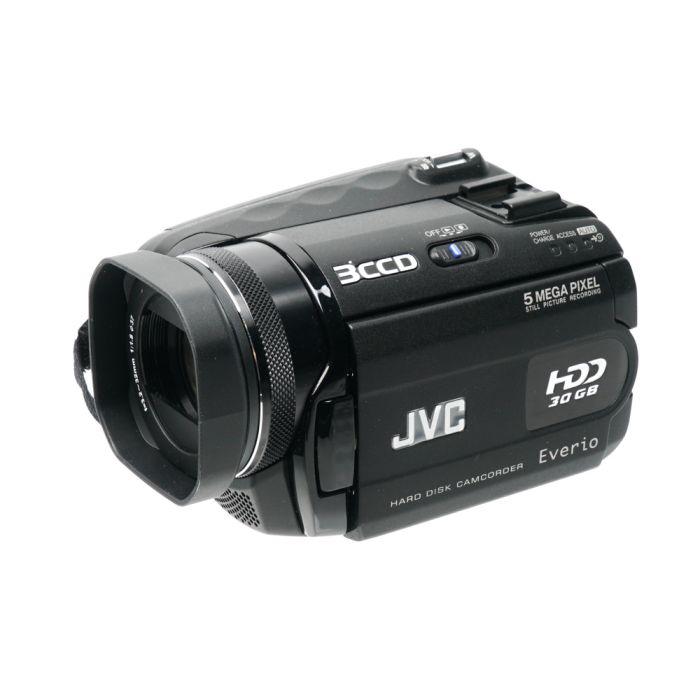 JVC GZ-MG505U Hard Disk Video Camera, Black (30GB HDD) {5MP}