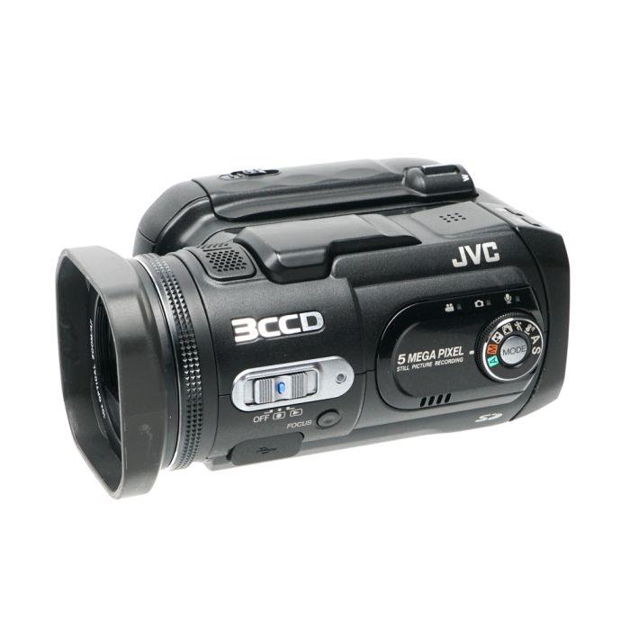 JVC GZ-MC500U 4GB Microdrive Digital Video Camera, Black {5MP}