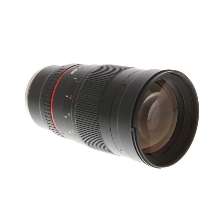 Samyang 135mm f/2 ED UMC Manual Focus, Manual Aperture Lens for Sony E-Mount {77}