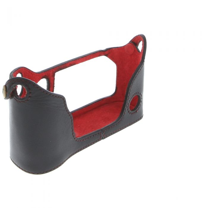 Ciesta Camera Body Jacket for Fujifilm X-Pro 1, Black Leather