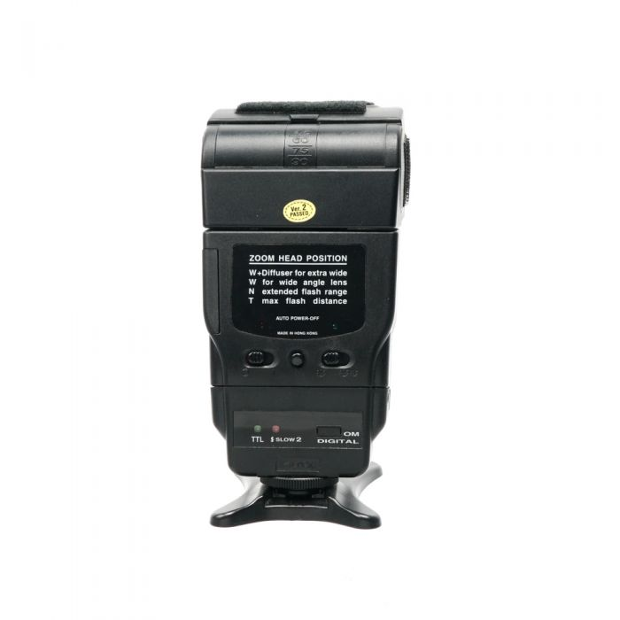 Promaster 5750 DX TTL Flash with 5050DXR Module For Olympus Digital [GN130] (Bounce, Swivel, Zoom)