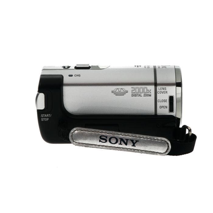 Sony DCR-SX44 4GB NTSC Handycam Video Camera, Silver