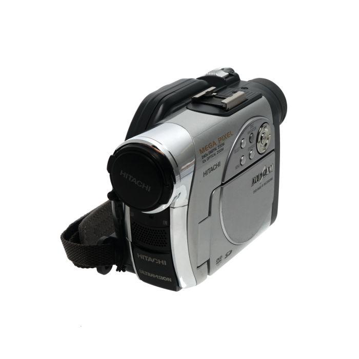 Hitachi DZ-MV780A Silver Mini-DVD NTSC Digital Video Camcorder