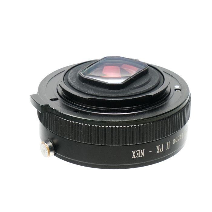 Mitakon Zhongyi Lens Turbo II PK - NEX Adapter for Pentax K-Mount Lenses to Sony E-Mount Cameras