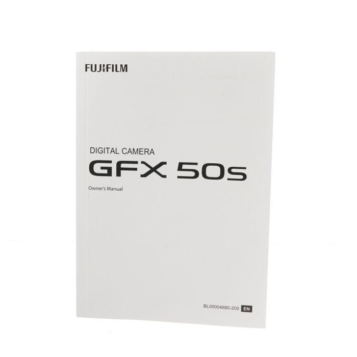 Fujifilm GFX 50S Instructions