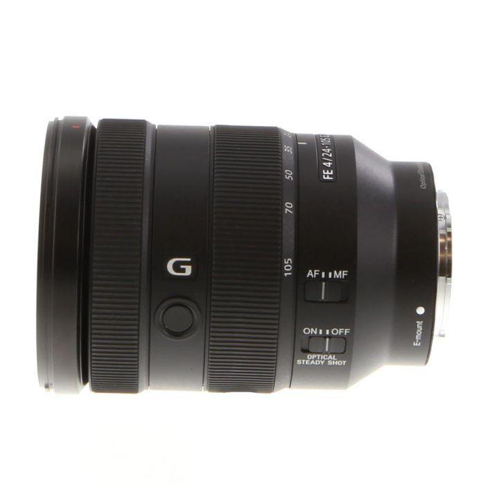 Sony FE 24-105mm f/4 G OSS AF E-Mount Lens, Black {77} SEL24105G