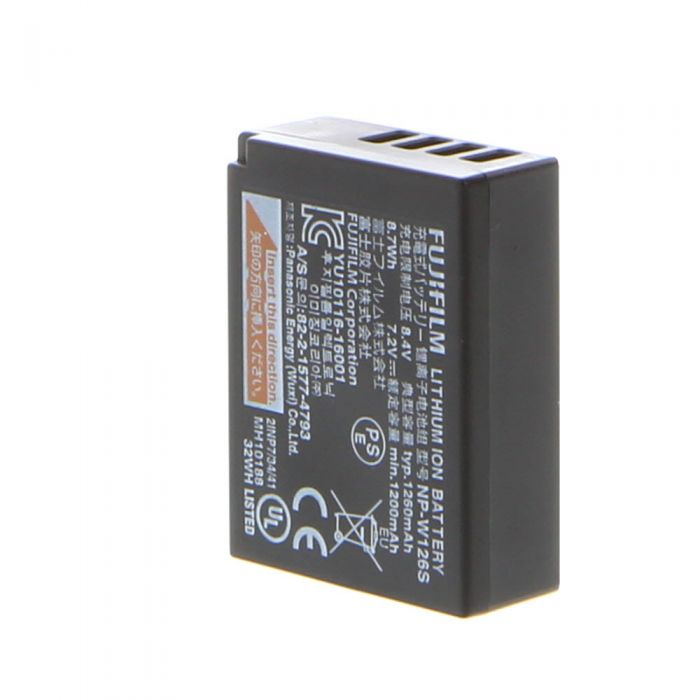 Fujifilm NP-W126S Rechargeable Battery (for X-Pro, X-A, X-E, X-M, X-T Series)