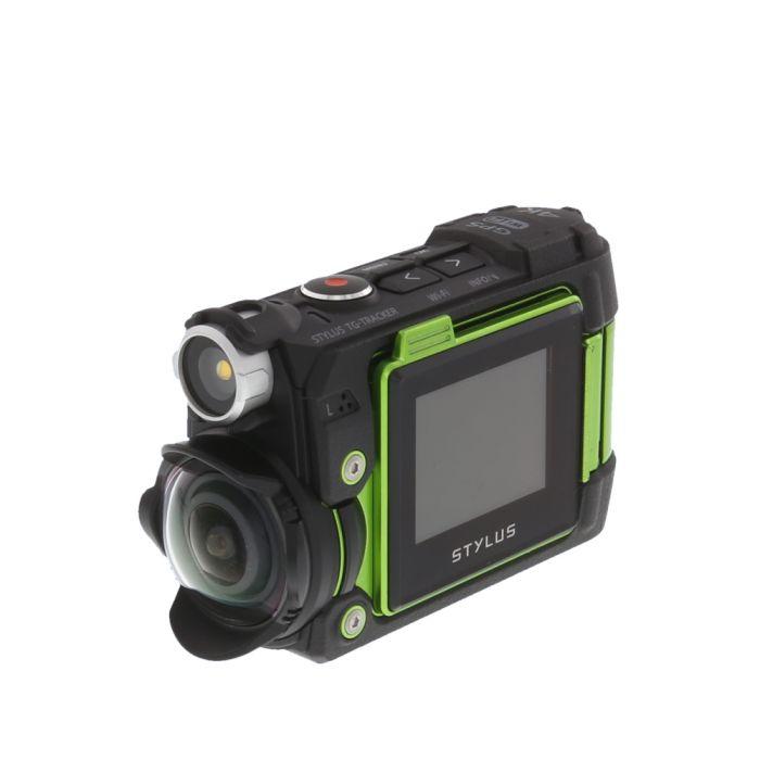 Olympus Stylus Tough TG-Tracker 4K Digital Action Camera, Green {8MP}