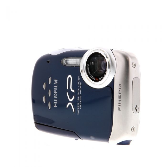 Fujifilm FinePix XP10 Digital Camera, Blue (Waterproof 10\' Depth) {12 M/P}