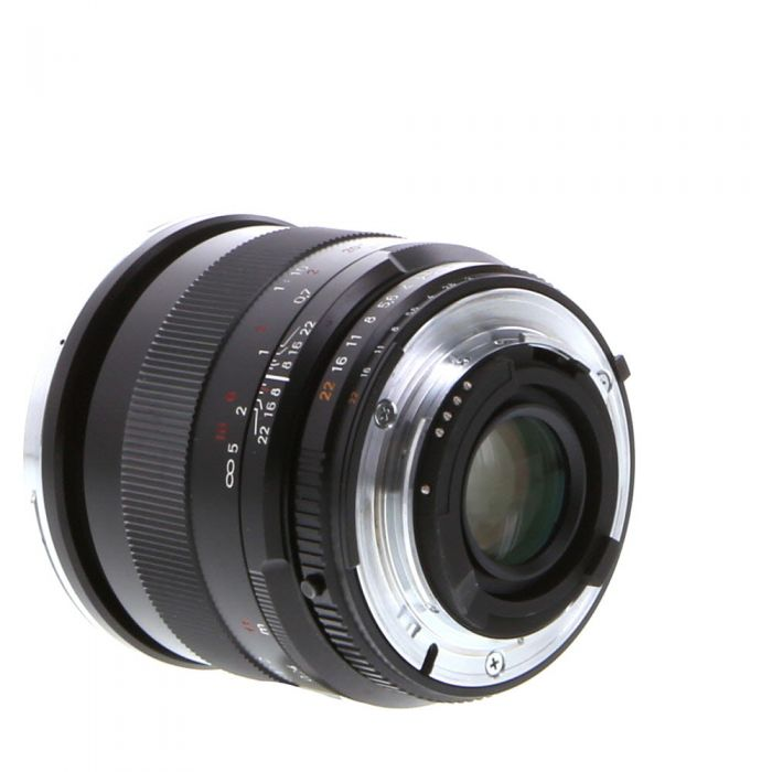 Zeiss Milvus 50mm F/2 T* Makro Planar ZF.2 Manual Focus Lens (With CPU Contacts) for Nikon F Mount {67} with De-Click Tool