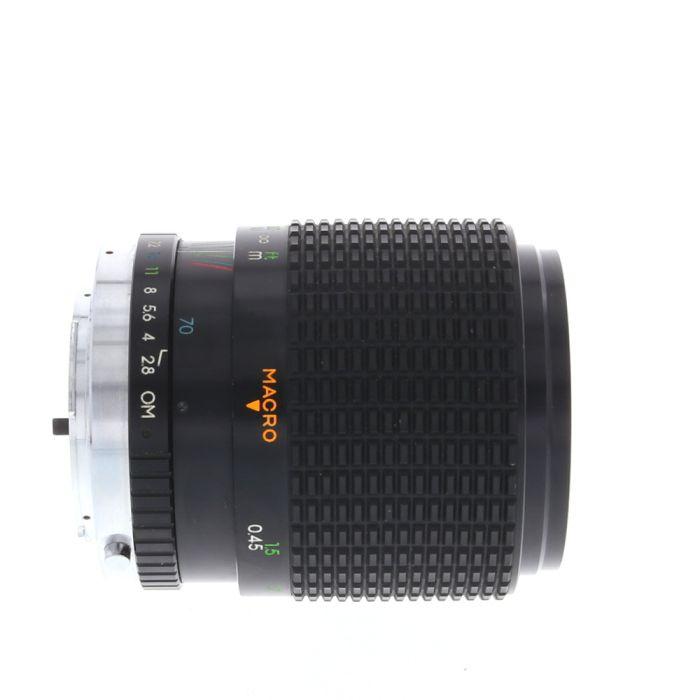 Kalimar 35-70mm F/2.8 MC Macro Manual Focus Lens For Olympus OM Mount {55}