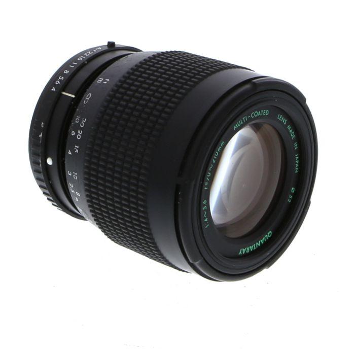 Quantaray 70-210mm F/4-5.6 Macro A Manual Focus Lens For Pentax K Mount {55}