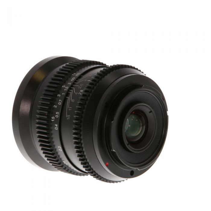SLR Magic 18mm F/2.8 Cine Manual Focus, Manual Aperture Lens For Sony E Mount {62}
