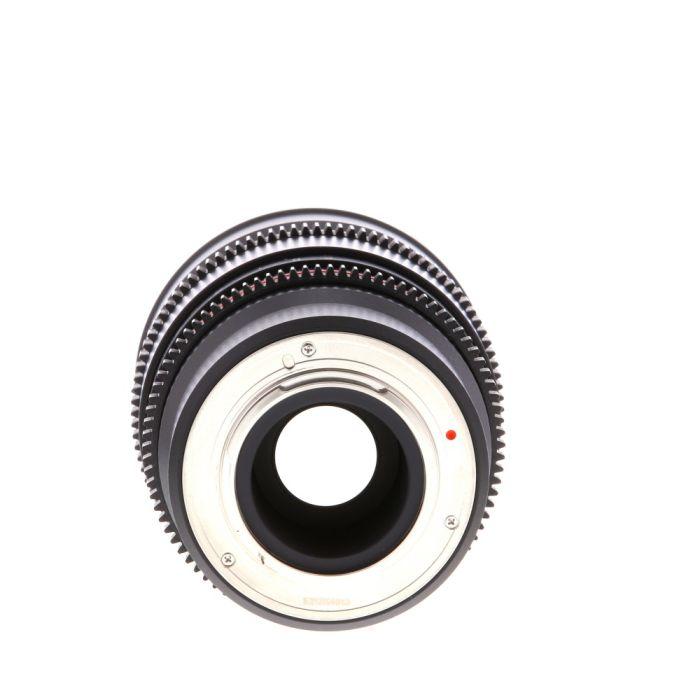 Rokinon Cine 16mm T2.2 ED AS UMC CS Manual Lens for Micro Four Thirds MFT Mount, Black {77}