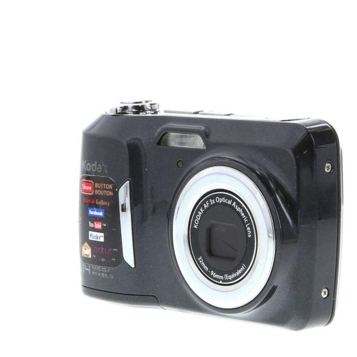 Kodak C183 Black Digital Camera {14MP} (Requires 2/AA)